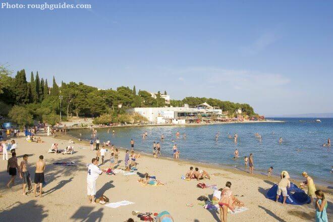 Split plage Bacvice