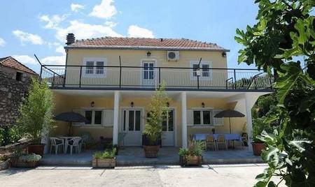 Villa Melanie à Staševica en Dalmatie