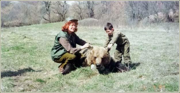 rencontre avec les ours croates a Plitvice