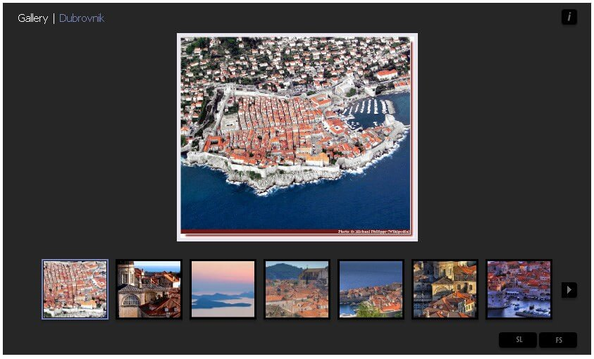 Album photo dubrovnik