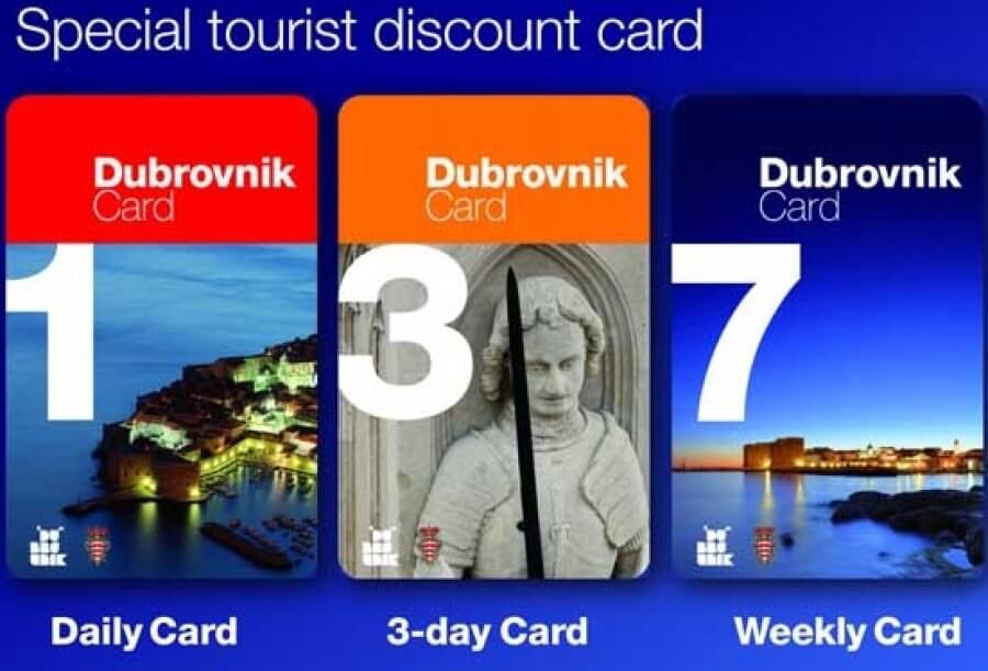 acheter la dubrovnik card
