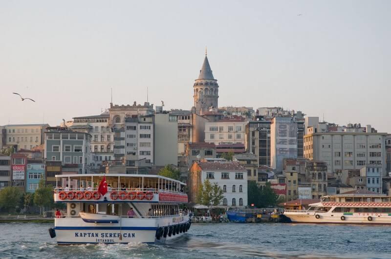 Galata croisière sur le Bosphore à Istanbul