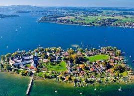 Lac Chiemsee, la mer de Bavière : Herrenchiemsee, Fraueninsel et Prien (Tourisme Bavière)