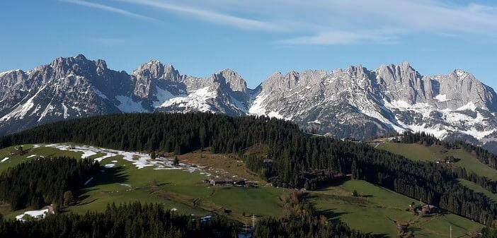 Tyrol en Autriche Wilderkaiser