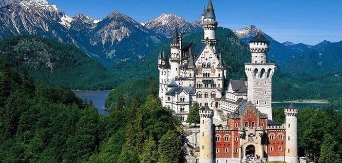 Châteaux de Louis 2 de Bavière ; magie royale sur la route romantique allemande