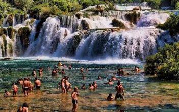parc cascade de krka