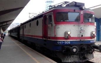train dans les Balkans