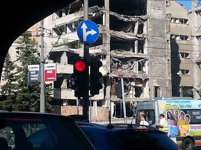 Belgrade bombardements de l'Otan