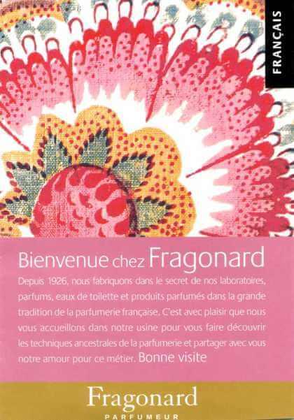 Bienvenue Chez Fragonard Parfumeur