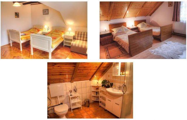 Chambre et salle de bain Maison Maryla Ratkovica