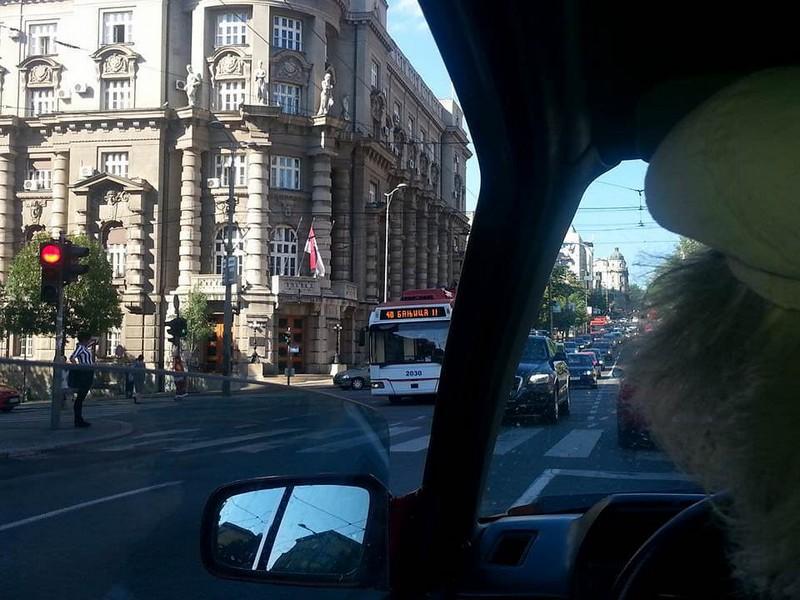Circuler à Belgrade