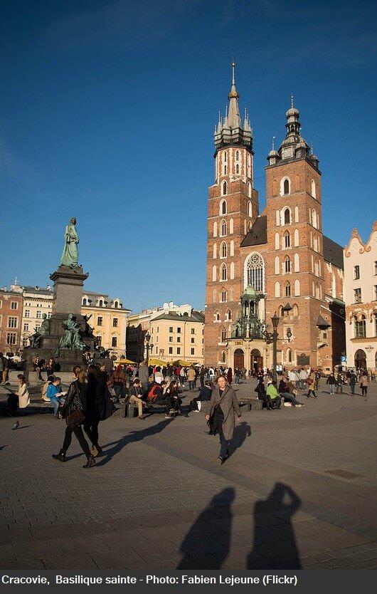 Cracovie basilique sainte Marie