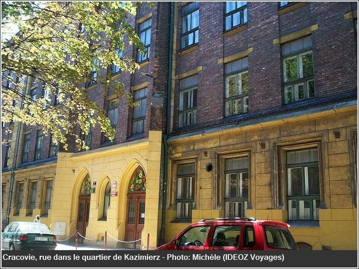 Cracovie rue de Kazimierz