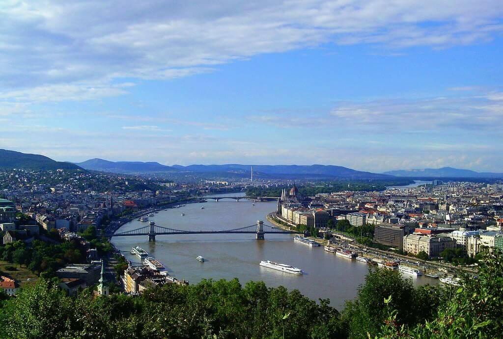Danube à Budapest