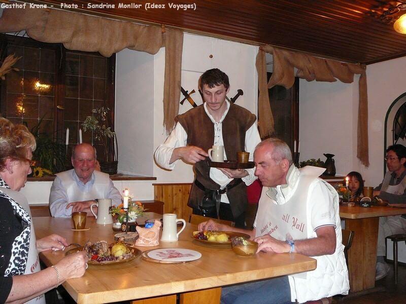 Gasthof Krone restaurant médiéval à Fuessen