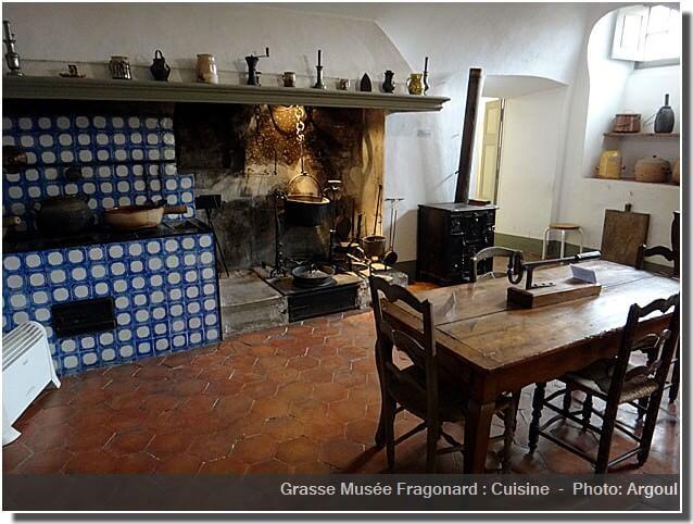 Grasse musee Fragonard cuisine