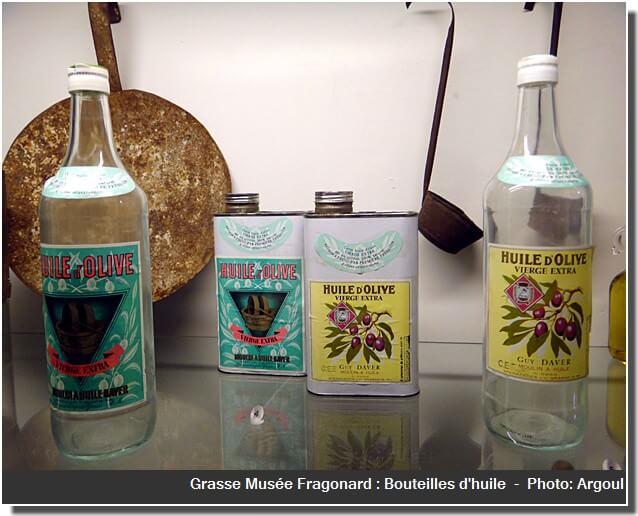 Grasse musee fragonard flacons huile olive