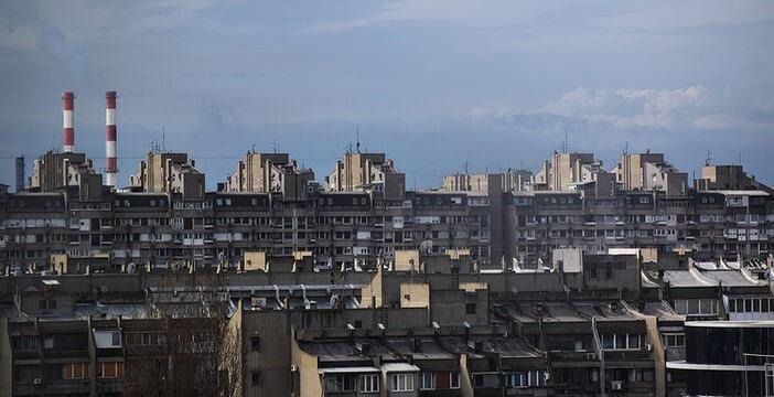 Novi Beograd autrement ; visiter Belgrade au-delà des évidences
