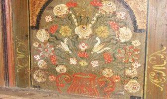 Peintures sur bois temple Luthérien de Viscri