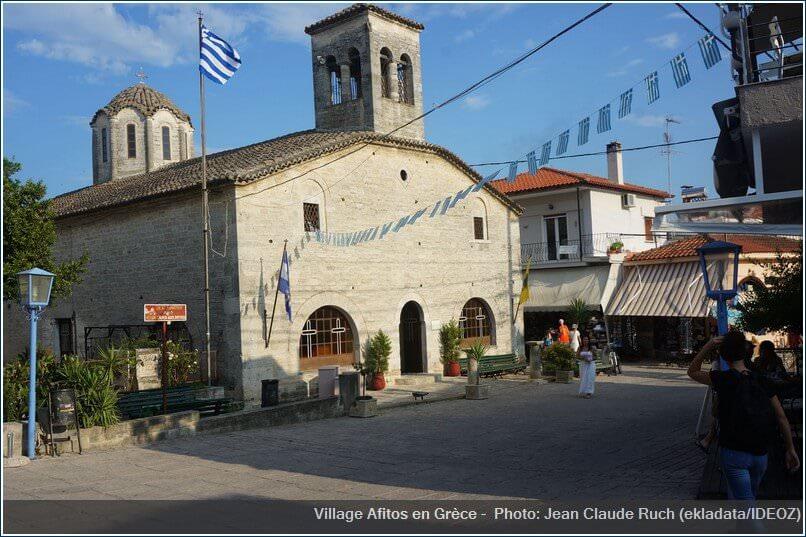 Village Afitos Grece