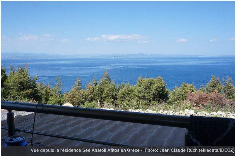 Vue depuis la résidence See Anatoli