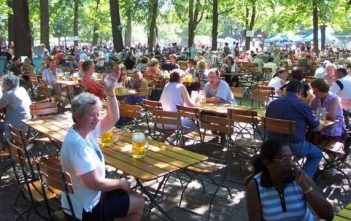 biergarten à Munich