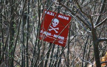 mines dans les balkans