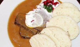 svickova na smetane cuisine tchèque