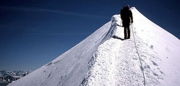 Ascension du Mont Blanc ; vivre à l'aube du monde