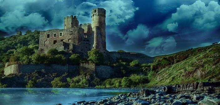Chateau du Rhin en Allemagne