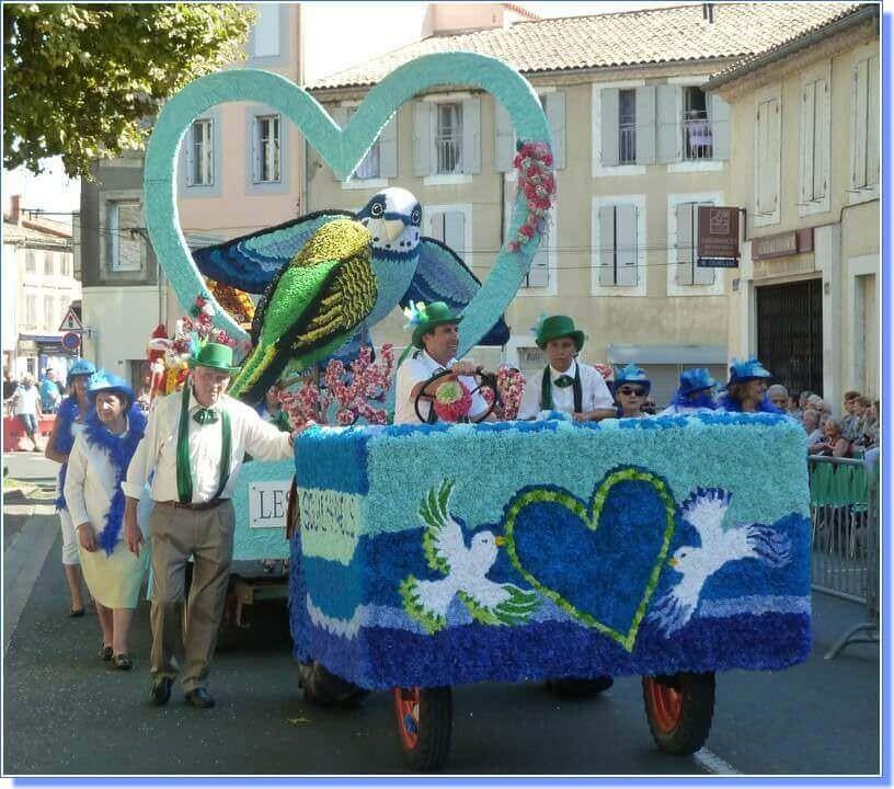 Fête du Cassoulet de Castelnaudary 2015 char Souilhanels