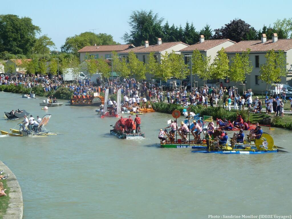 Fête du cassoulet Castelnaudary course des ofni