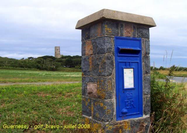 Guernesey boite aux lettres poste