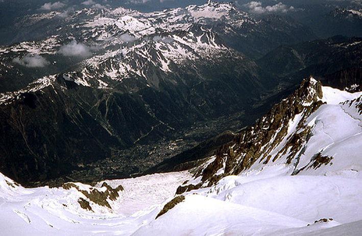 Mont Blanc vallée de Chamonix