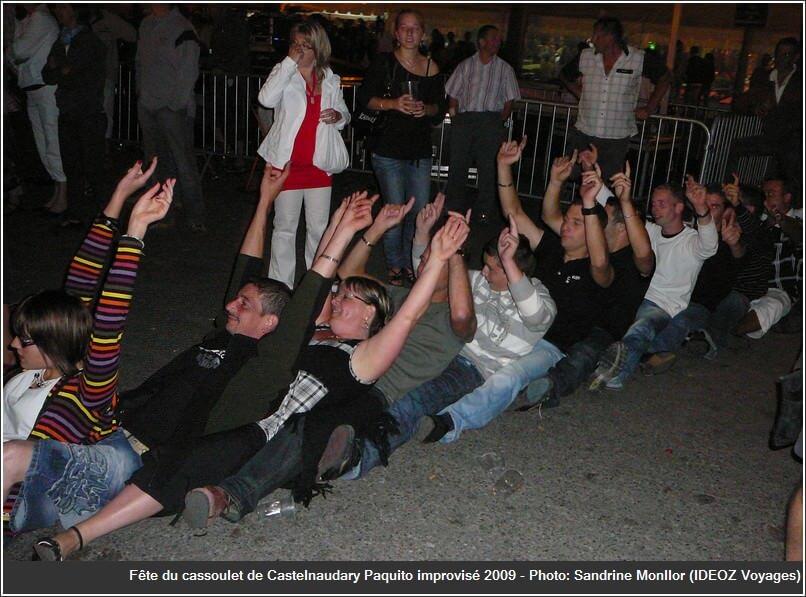 Paquito fête du cassoulet castelnaudary 2009