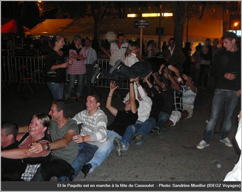 Paquito fête du cassoulet de castelnaudary 2009