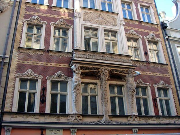 Riga architecture Art Nouveau