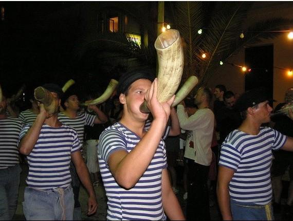 Tovareca muzika lors de la fête de Sali ©ezadar.hr