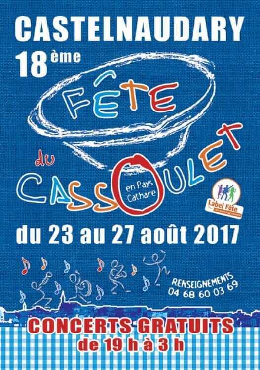 fête du cassoulet 2017 castelnaudary