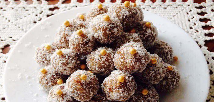 kokosove kuglice boules de coco à la serbe