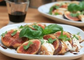 Insalata Bavarese, Salade de figues et mozzarella au balsamique (Recette Bavaroise)