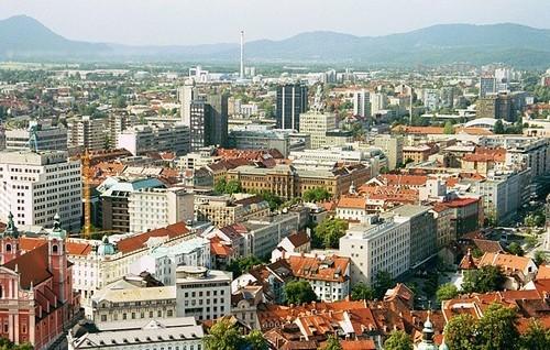 Ljubljana quartiers modernes