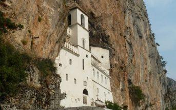 Monastère Ostrog au Montenegro