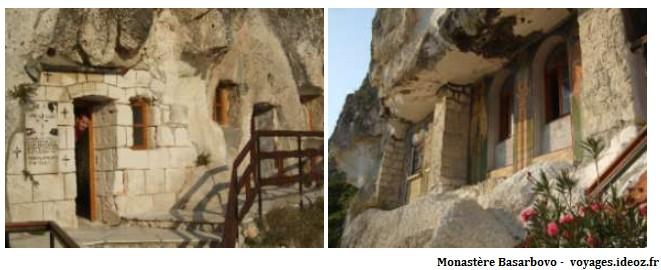 Monastère rupestre Basarbovo