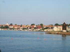 Nesebar en Bulgarie