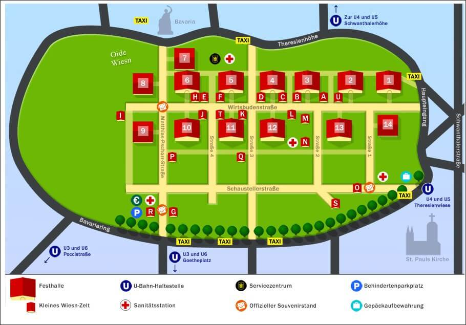 plan wiesn oktoberfest munich