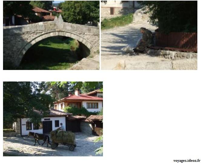 Pont Kalacev et scènes du quotidien en Bulgarie