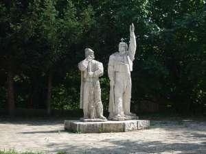 Statues en mémoire du communisme en Bulgarie