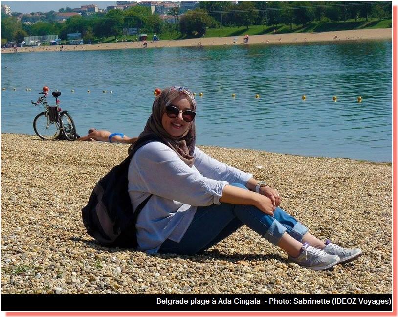 sur Belgrade plage à ada cingalija