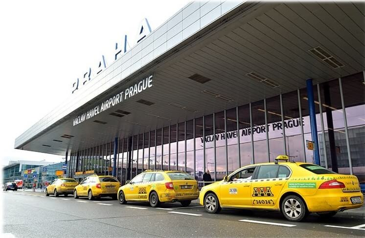 Taxis AAA Prague airport